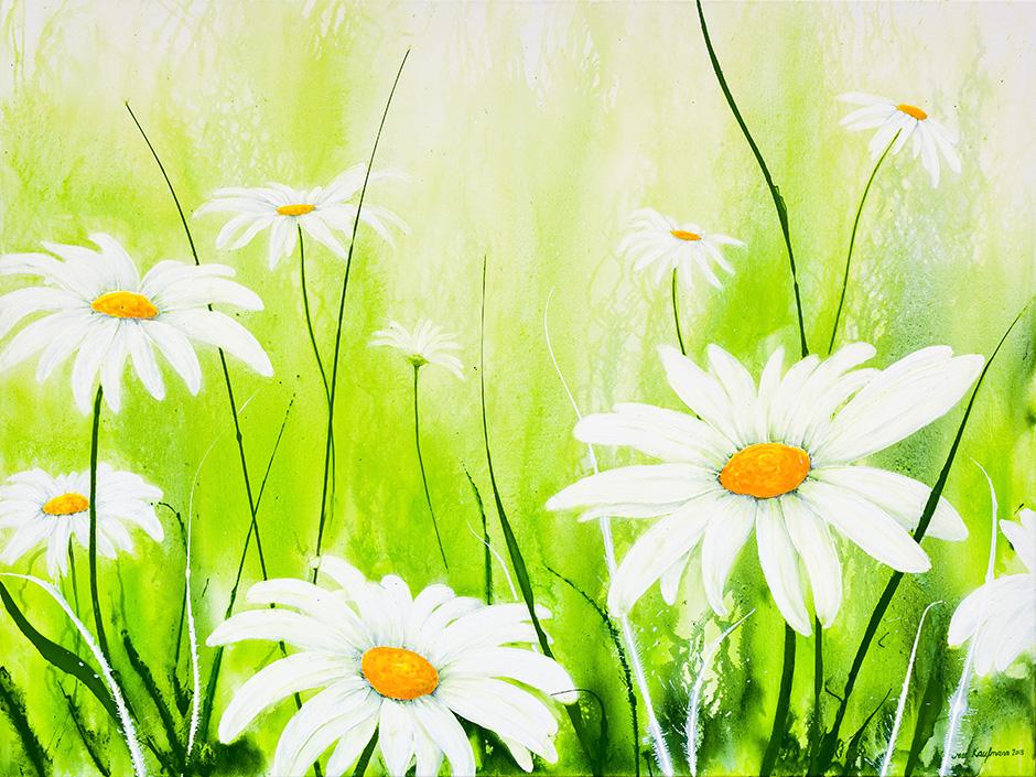 Perlen im Gras