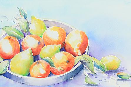 Mallorquinische Früchteschale
